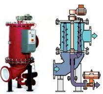Sistema di trattamento di acqua di ballast / per nave / con filtro