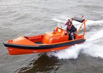 Barca di salvataggio entrobordo a idrogetto / in alluminio