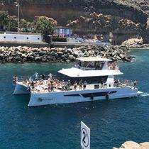 Motor-yacht catamarano / da charter / con fly