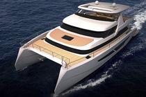 Motor-yacht catamarano / offshore / con cabina di pilotaggio / dislocante