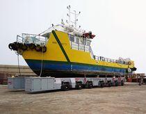 Rimorchio per movimentazione / per barca / controllato a distanza / a ruote indipendenti