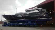 Rimorchio di movimentazione pesante / per barca / a ruote indipendenti / semovente