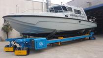 Rimorchio per movimentazione / per cantiere navale / a ruote indipendenti / semovente