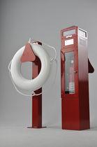 Colonnina antincendio / con illuminazione incorporata / per pontile