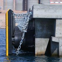 Parabordi per porto / per terminale portuario / per banchina / conico