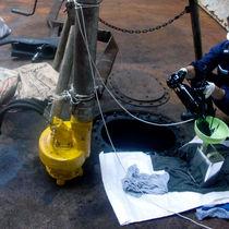 Pompa marina / di trasferimento / per skimmer per idrocarburi / centrifuga