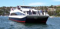 Barca per trasporto logistico entrobordo a idrogetto / in alluminio