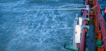 Sistema di spruzzatura di disperdente / con braccio / contro l'inquinamento da idrocarburi / per barca