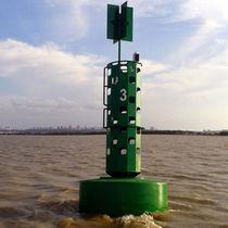 Boa oceanografica / solare / con riflettore radar / in schiuma