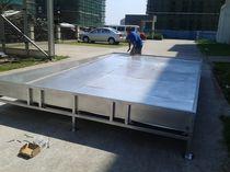 Serbatoio di acque usate / per cantiere navale / flessibile / in plastica