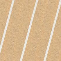 Pannello per rivestimento ponti / in teak / sintetico / in laminato