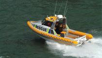 Barca di salvataggio entrobordo / gommone semirigido / in alluminio