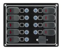 Quadro elettrico per barca / a tenuta stagna / di corrente / con porto USB