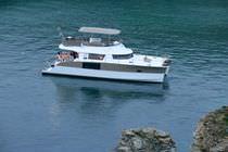 Cabinato catamarano / entrobordo / con fly / con 3 o 4 cabine