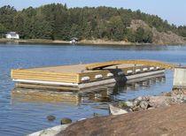 Pontile galleggiante / imbarcadero / per marina / in calcestruzzo