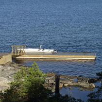 Pontile imbarcadero / per marina / in legno / ad alti carichi