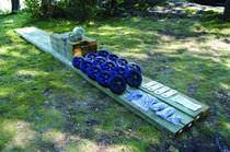 Ascensore per barche / sistema a rotaia