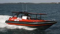 Barca turistica entrobordo a idrogetto / gommone semirigido