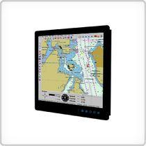 Schermo per nave / marino / sistema di navigazione / di controllo