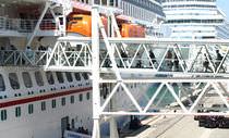 Passerelle per navi da crociera / per porti / per traghetti / per stazione marittima