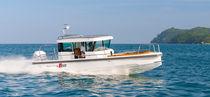 Barca open fuoribordo / con console centrale / hard-top / con cockpit chiuso