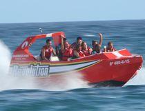 Barca turistica entrobordo a idrogetto / in alluminio