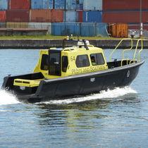 Barca per trasporto equipaggio entrobordo a idrogetto