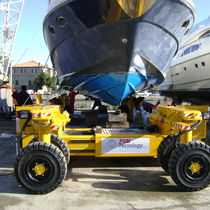Rimorchio per movimentazione / di varo / per barca / idraulico