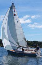 Monoscafo / day-sailer / con poppa aperta / con pozzetto centrale