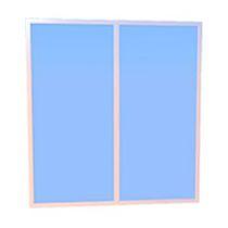 Finestra per nave / fissa / rettangolare / in vetro