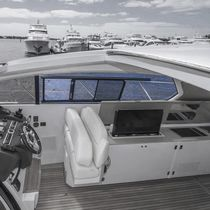 Finestra per yacht / scorrevole / rettangolare / in vetro