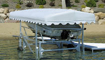 ascensore per imbarcazioni (idraulica) CANTILEVER Hewitt Boats Lifts and Docks