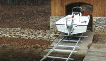 ascensore per imbarcazioni (sistema a rotaia) ROLL-A-RAIL Hewitt Boats Lifts and Docks