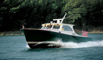 barca a motore : cabinato (lobster) T 40 MKII Hinckley