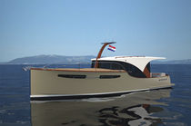 barca a motore : cabinato (lobster, in legno) POWER 39H Enavigo Yachts