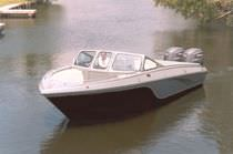 barca a motore : runabout bow-rider fuoribordo (in alluminio) SPORTSMAN 28 OFFSHORE Scully's Aluminum Boats