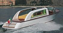 barca a motore : runabout entrobordo (tender per yacht) LIMOUSINE 28 Comitti Yachts