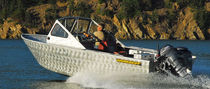 barca a motore : runabout fuoribordo (in alluminio, professionale) M 19 Workskiff Inc