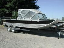 barca da pesca sportiva : runabout entrobordo (in alluminio) SLED 18' Koffler
