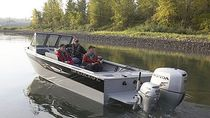 barca da pesca sportiva : runabout fuoribordo (in alluminio) PHANTOM 162 American Angler