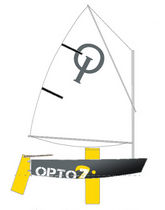 deriva per bambino : OPTIMIST OPTO Z Atelier-z