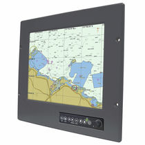 "monitor multifunzione per yachts e navi (PC, video, sistema di navigazione, schermo tattile) R12L600-MRM2HB - 12.1"" Winmate Communication INC."