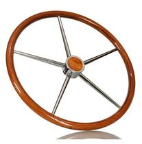 volante per barca a motore (teak) &Oslash; 600 mm | TYPE C ikibro ltd.