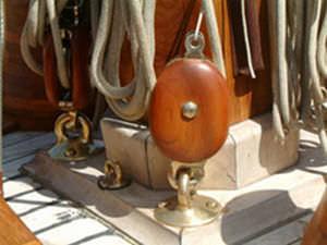 Bozzello singolo / apribili / per barche a vela