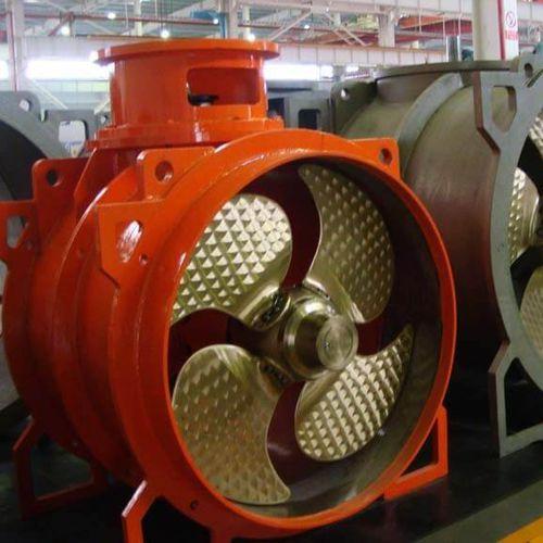 propulsore di prua / di poppa / per nave / elettrico