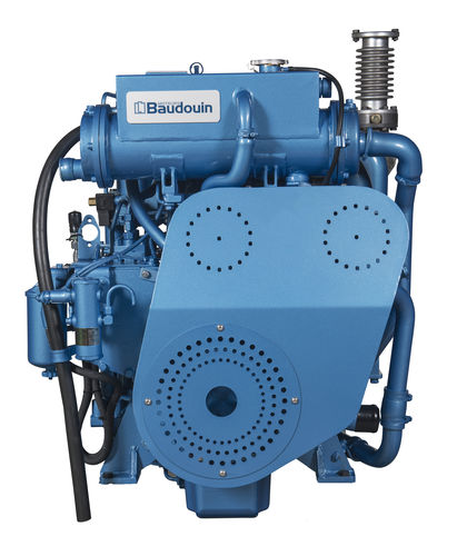 motore per barca professionale / ausiliare / diesel / ad iniezione diretta