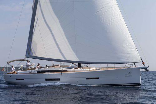 Sailing-yacht da crociera / con poppa aperta / con doppio timone a ruota 56  Dufour Yachts