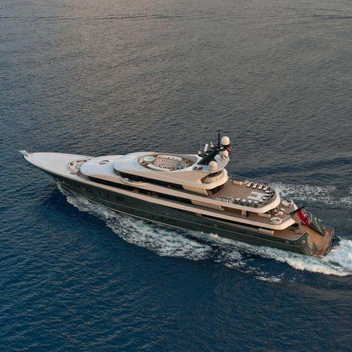 mega-yacht da crociera - Lurssen Yachts