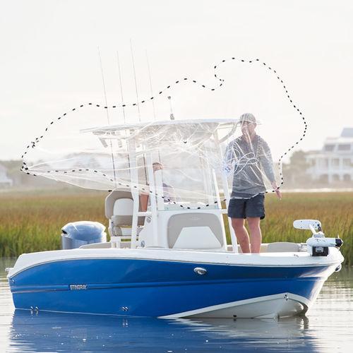 deck boat fuoribordo / da sci nautico / da pesca sportiva / max. 12 persone