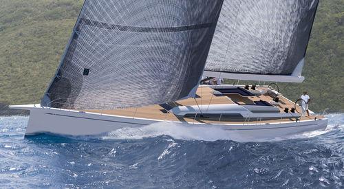 Sailing-yacht da regata e crociera / con poppa aperta SWAN 78 Nautor's Swan